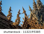 pattaya chonburi province ... | Shutterstock . vector #1132195385