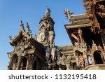 pattaya chonburi province ... | Shutterstock . vector #1132195418