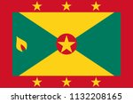 grenada national flag  official ...   Shutterstock .eps vector #1132208165