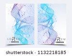 minimal brochure templates ... | Shutterstock .eps vector #1132218185