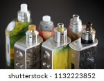 high end rebuildable dripping...   Shutterstock . vector #1132223852
