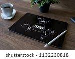 seo   search engine... | Shutterstock . vector #1132230818