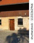 stable buildings bavaria style... | Shutterstock . vector #1132262966