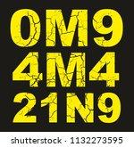 omg amazing graphic design...   Shutterstock .eps vector #1132273595