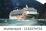 alaska  alaska   usa  07 22... | Shutterstock . vector #1132274732