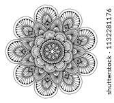 mandalas for coloring  book....   Shutterstock .eps vector #1132281176