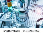 robotic and automation system... | Shutterstock . vector #1132283252