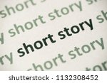 Word Short Story Printed On...