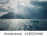beautiful dramatic scenery in... | Shutterstock . vector #1132312442
