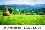 rural landscape of maramures ...   Shutterstock . vector #1132312706
