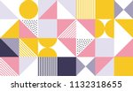 geometric pattern vector... | Shutterstock .eps vector #1132318655
