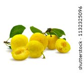 fresh  nutritious  tasty yellow ... | Shutterstock .eps vector #1132325096