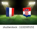 france vs croatia  football... | Shutterstock . vector #1132335152