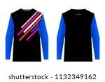 design for sublimation print.... | Shutterstock .eps vector #1132349162
