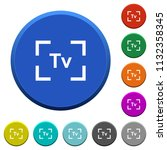 camera time value mode round... | Shutterstock .eps vector #1132358345