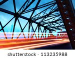 a historic bridge at shanghai... | Shutterstock . vector #113235988
