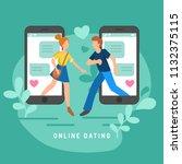vector illustration for online...   Shutterstock .eps vector #1132375115