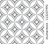 abstract seamless ornament... | Shutterstock .eps vector #113237992
