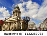 franz sischer dom  the... | Shutterstock . vector #1132383068