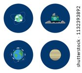 science and universe | Shutterstock .eps vector #1132393892