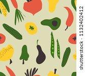 vegetables for your design.... | Shutterstock .eps vector #1132402412