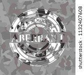 aberrant grey camouflaged emblem   Shutterstock .eps vector #1132407608