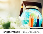 education in australia  pencils ... | Shutterstock . vector #1132410878
