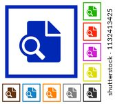 preview flat color icons in... | Shutterstock .eps vector #1132413425