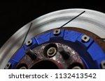 race car's disc brake   high... | Shutterstock . vector #1132413542