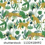 vector seamless pattern of... | Shutterstock .eps vector #1132418492