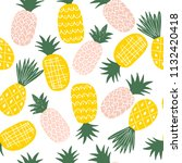 colorful seamless pattern with... | Shutterstock .eps vector #1132420418