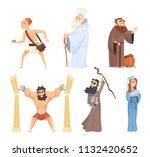 historical illustrations of... | Shutterstock .eps vector #1132420652