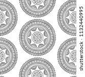 unusual vector background with... | Shutterstock .eps vector #1132440995