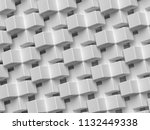 3d rendering abstract... | Shutterstock . vector #1132449338