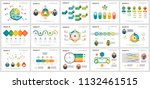 colorful management or planning ... | Shutterstock .eps vector #1132461515