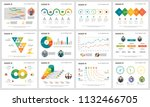 colorful teamwork or planning... | Shutterstock .eps vector #1132466705