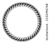 circle frame  made with running ...   Shutterstock .eps vector #1132496768