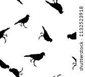 seamless wild animals pattern... | Shutterstock .eps vector #1132523918