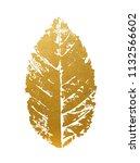 beautiful golden leave   Shutterstock .eps vector #1132566602