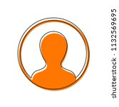profile  person in circle....   Shutterstock .eps vector #1132569695