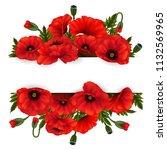 illustration of template for... | Shutterstock .eps vector #1132569965