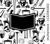 metallurgical background design.... | Shutterstock .eps vector #1132581002