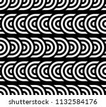 seamless pattern with circles... | Shutterstock .eps vector #1132584176
