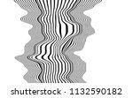 optical art abstract background ... | Shutterstock .eps vector #1132590182
