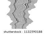 optical art abstract background ... | Shutterstock .eps vector #1132590188