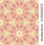 vector seamless ethnic pattern... | Shutterstock .eps vector #1132633472