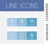set of 6 editable teach icons...