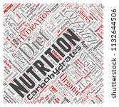 vector conceptual nutrition...   Shutterstock .eps vector #1132644506