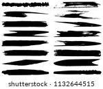 vector collection of artistic... | Shutterstock .eps vector #1132644515