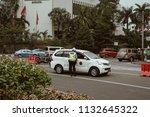 jakarta  indonesia   may 2 2018 ... | Shutterstock . vector #1132645322